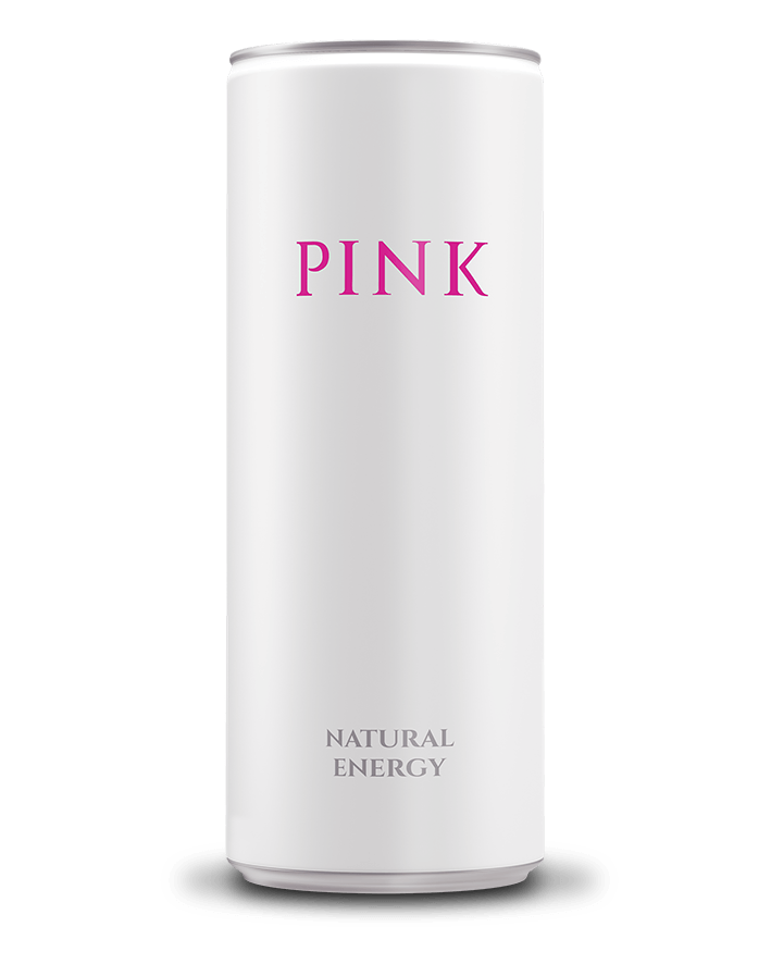 PINK natural energy can
