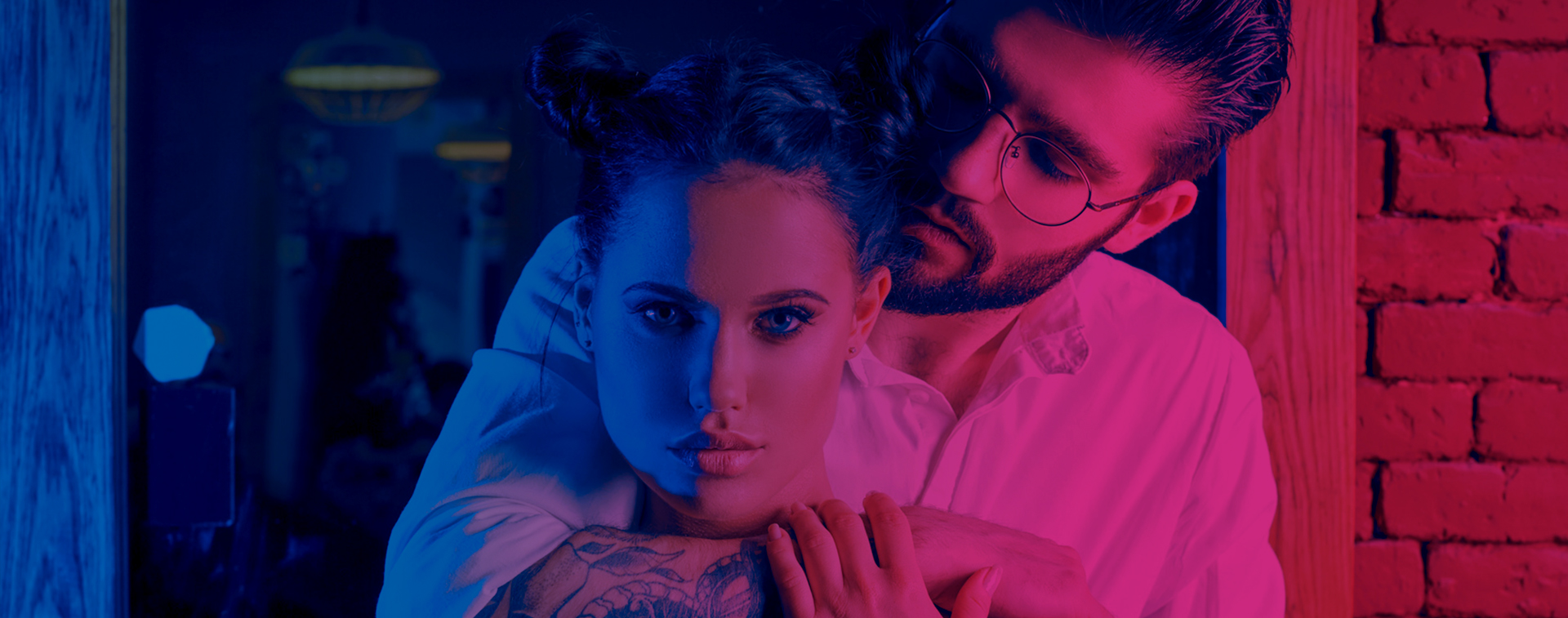 PINK & BLUE - 100% energy for her and for him