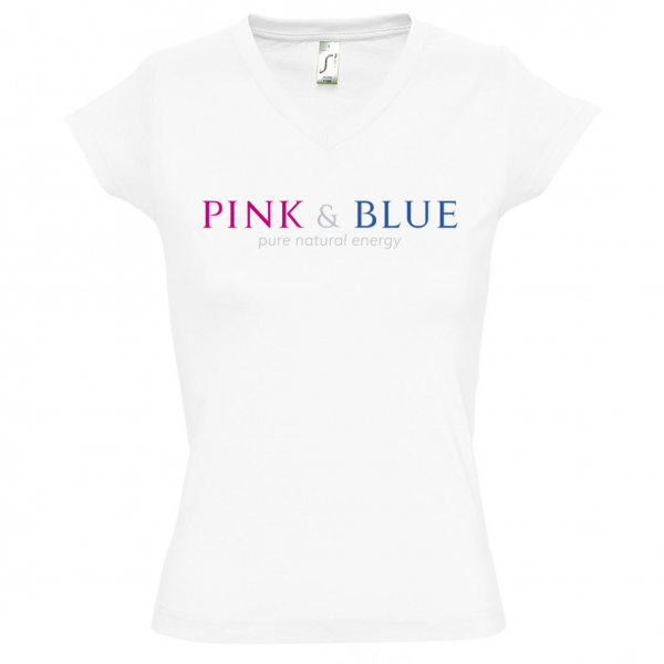 PINK and BLUE Girly Shirt